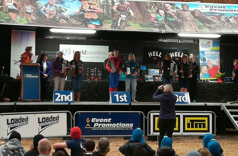 Tough Guy and Gal Championship 2017 podium women
