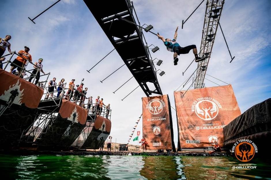 Worlds Toughest Mudder swing