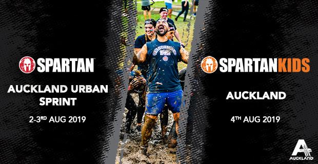 Spartan Auckland 2019 banner