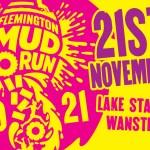 Flemington mud run 2021 banner