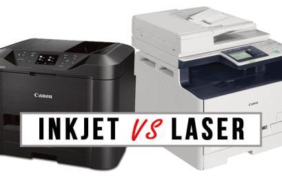 Imprimante Inkjet vs imprimante laser
