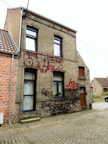 vieillissement d'une façade de maison