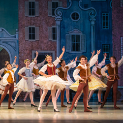 The School of Oregon Ballet Theatre's performance of Coppelia on the Annual School Performance