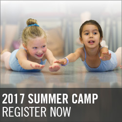 Oregon Ballet Theatre School's Summer Camp registration