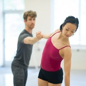 Brian Simcoe and Xuan Cheng | Photo by Yi Yin