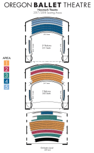 Newmark Seating Chart Portland Oregon