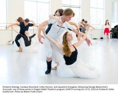 Oregon Ballet Theatre's program GIANTS running Oct. 8-15, 2016