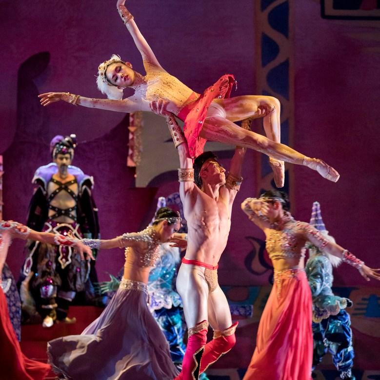 Oregon Ballet Theatre | Scheherazade | Choreographer: Dennis Spaight | Photo by Blaine Covert