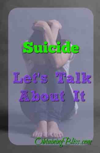 Suicide, Let's Talk About It