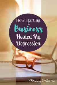 Learn how starting a business helped heal this entrepreneur's depression. We take a deep look into the healing power of putting your mind to something and following through. #entrepreneur #depression #healing #focus #mentalhealth #personaldevelopment #selfcare #personalgrowth #business
