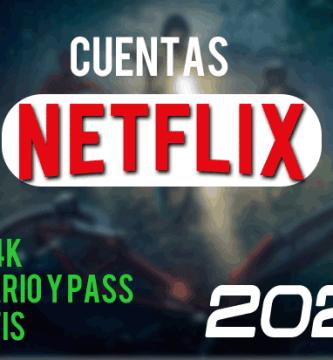 cuentas netflix gratis 2020