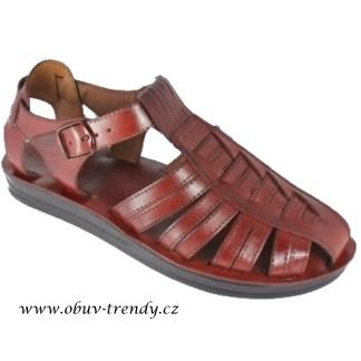 pánské kožené sandály Džoser