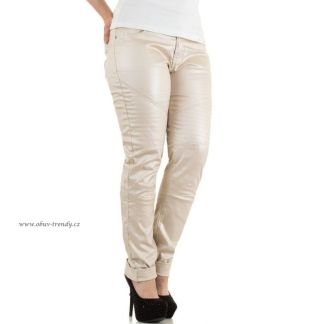 džíny koženy vzhled