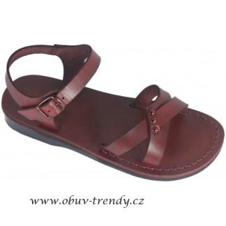 kožené sandály Eseta