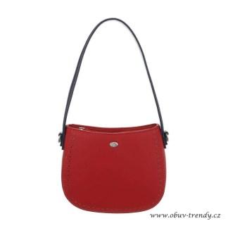 malá kabelka do ruky červená