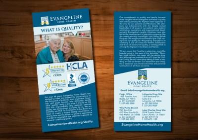 Evangeline Home Health Rack Cards