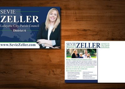 Sevie Zeller Political Postcard