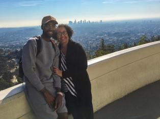 Mychael Knight and his Mother
