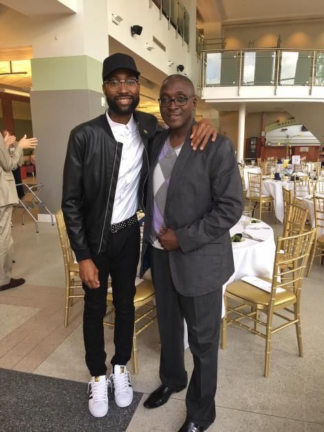 Mychael Knight his father