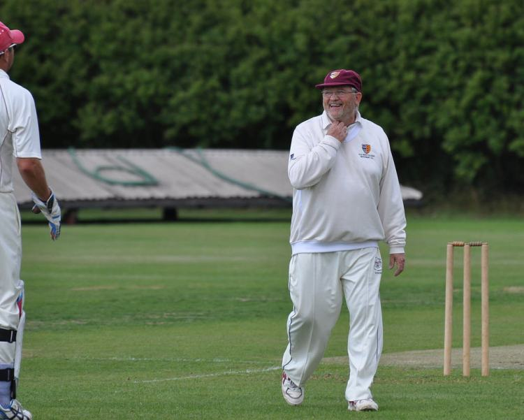 Phil Thorn, having probably just taken yet another wicket