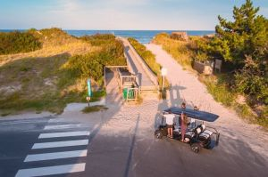 Golf Cart Rental at OBX Beach Access