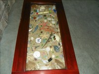 Beach themed coffee table | OBX Connection Message Board