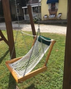 double x back chairs overstock leather chair single rope porch swing | outer banks hammocks
