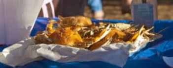 Crabs from Outer Banks Seafood Festival