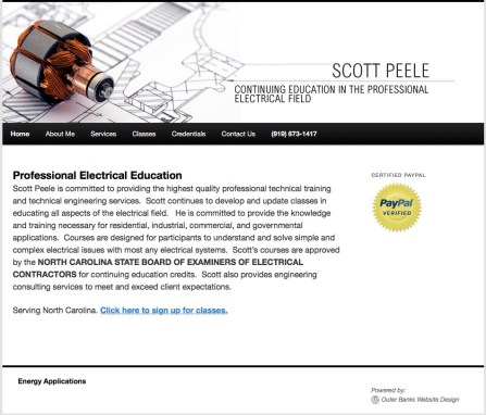 Scott Peele Engineering Program