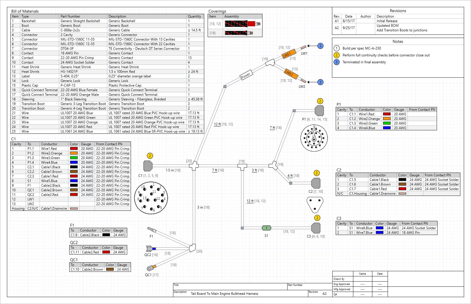 Cable Design Diagram