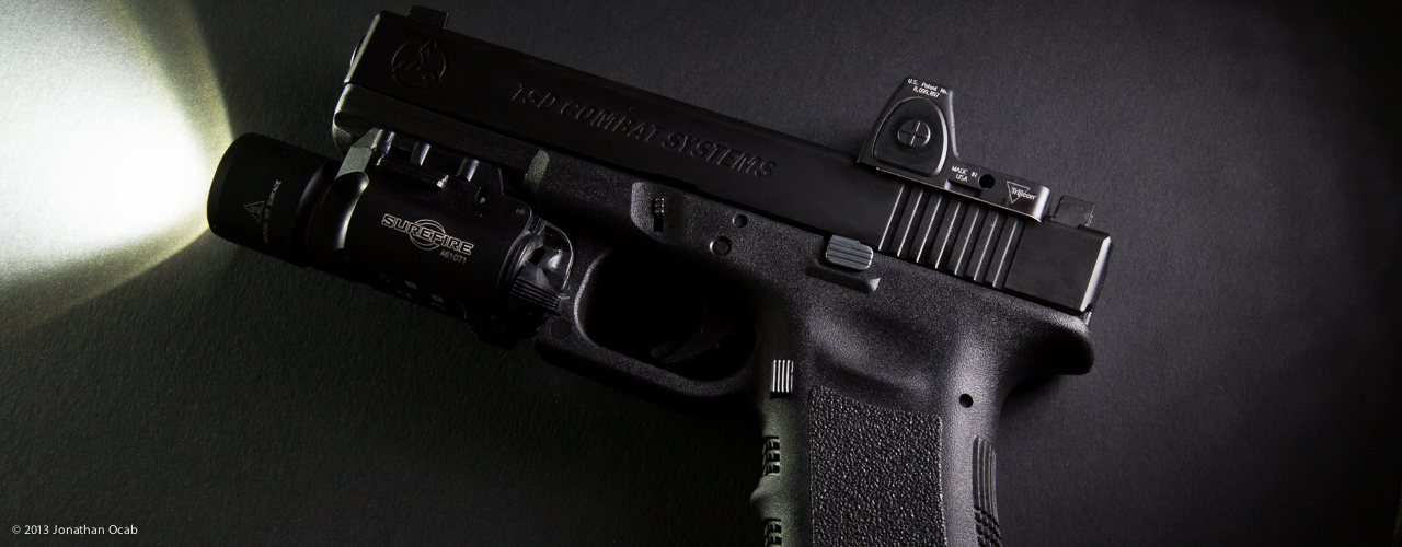 Glock 17 with One Source Tactical Slide and Trijicon RMR Review