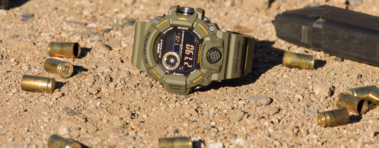 Casio G-Shock Rangeman GW-9400-3CR Review
