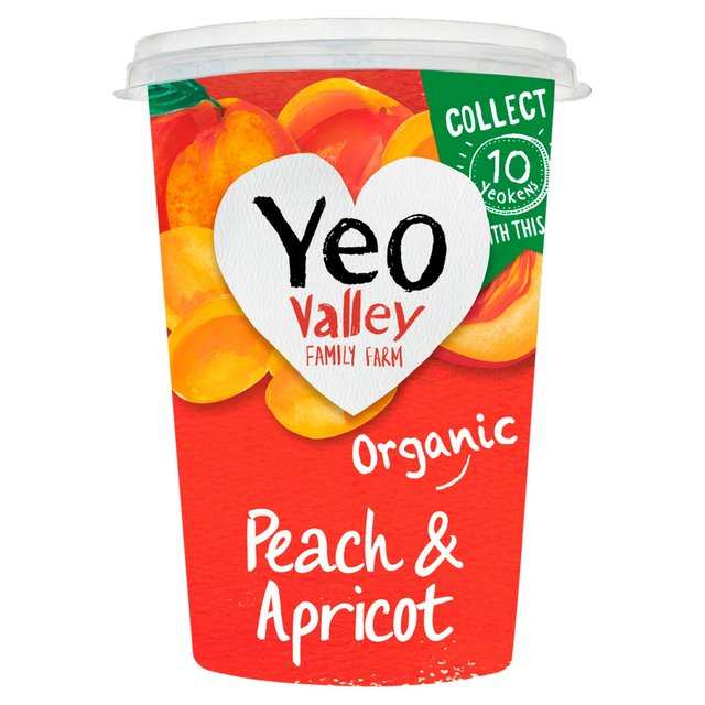 Yeo Valley Organic Peach & Apricot Yogurt 450g from Ocado