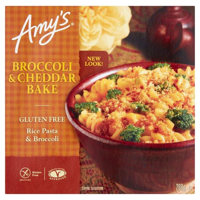 Amys Kitchen Broccoli  Cheddar Bake Frozen 270g from Ocado