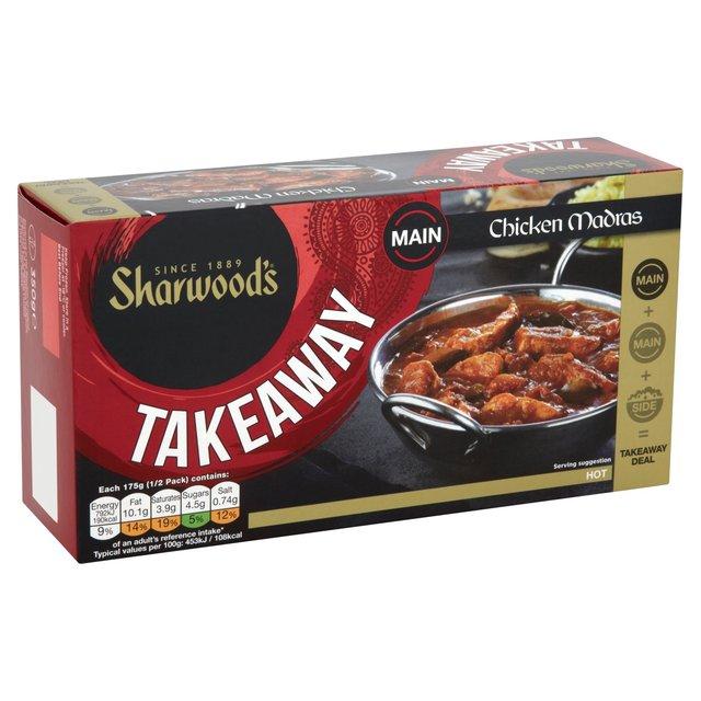 Sharwood's Takeaway Chicken Madras Frozen 350g from Ocado