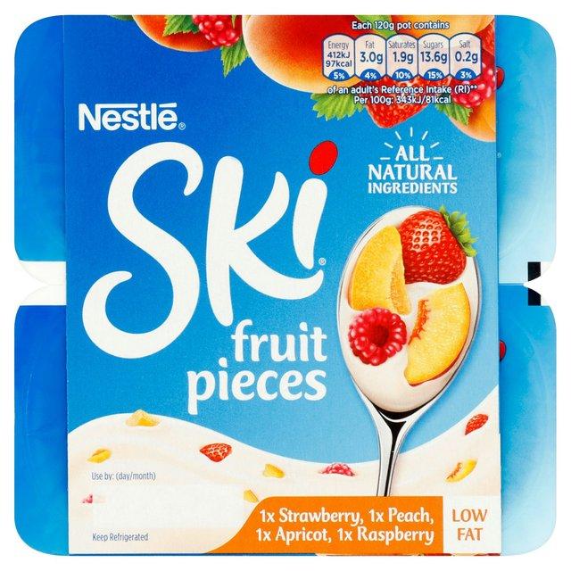 SKI Yogurt Variety Burst 4 x 120g from Ocado