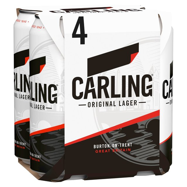 Carling Lager 4 x 440ml from Ocado