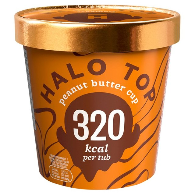 Halo Top Peanut Butter Low Calorie Ice Cream 473ml from Ocado