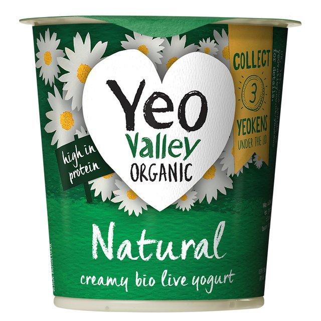 Yeo Valley Organic Natural Yoghurt | Ocado