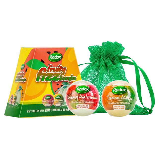 Radox Fruity Fizz Bombs Gift Set   Ocado