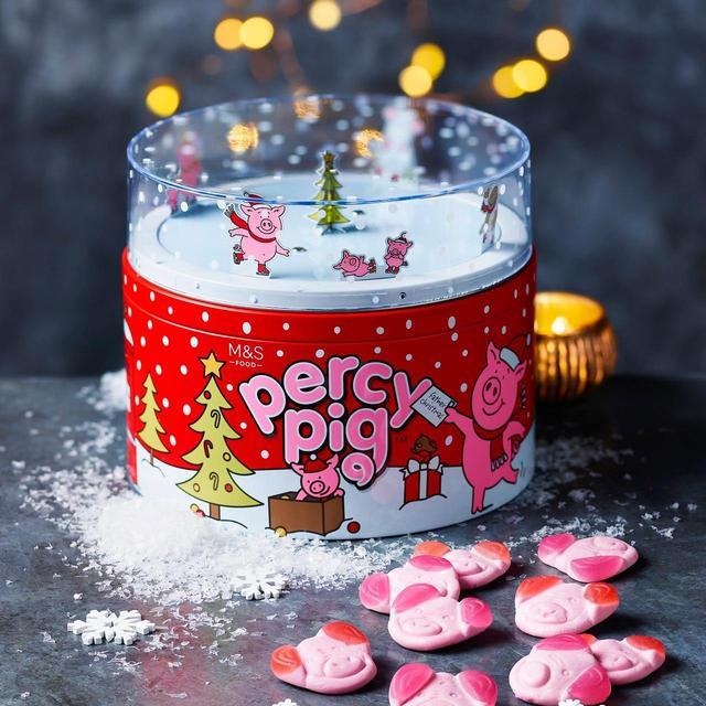 M&S Percy Pig on Ice Musical Tin 500g £10 @ Ocado
