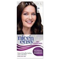 Nice n Easy No Ammonia Hair Dye Dark Brown 79 from Ocado