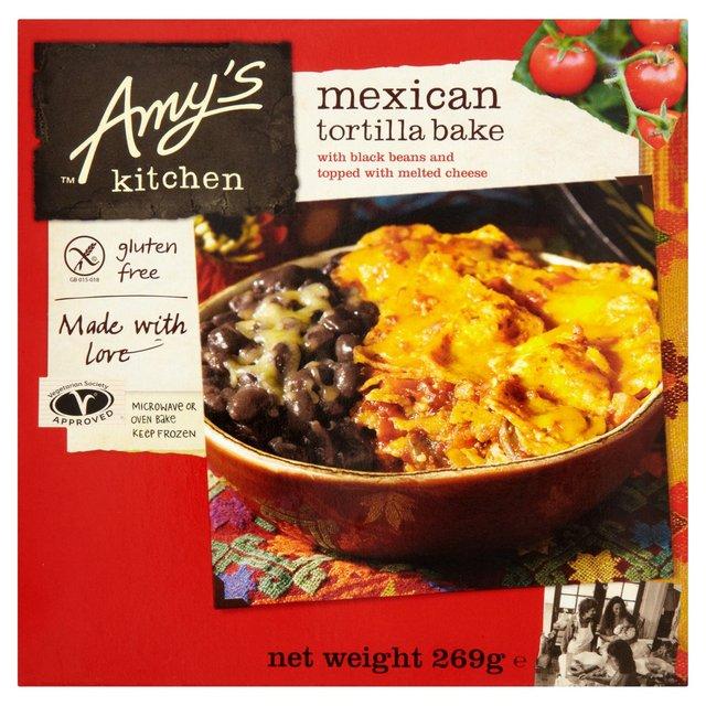 Amys Kitchen Gluten Free Mexican Tortilla Bake  Ocado