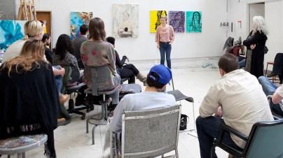 a community art class