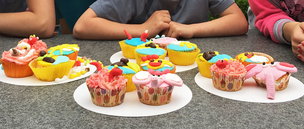 kinderworkshop cupcakes