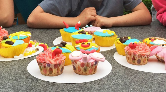 Workshop cupcakes en taarten