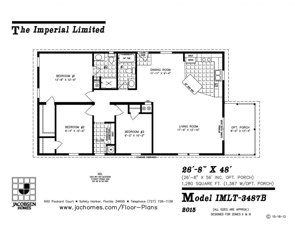 Imlt B Mobile Home Floor Plan