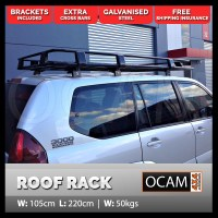 Premium Roof Rack for TOYOTA LANDCRUISER PRADO 120 Series ...