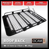 OCAM Aluminium Tradesman Roof Rack For Toyota Landcruiser