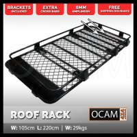 OCAM Alloy Roof Rack For Toyota Prado 150 Series 2009-16 ...